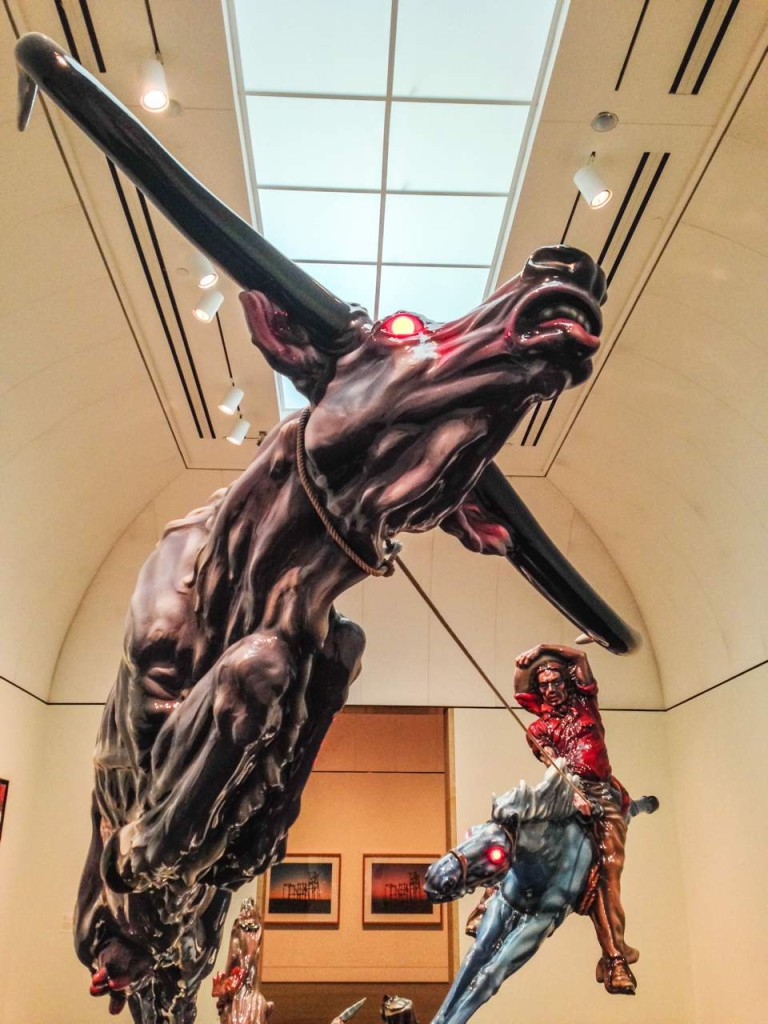 'Progress 2' by Luis Jimerez at the Blanford Museum of American Art