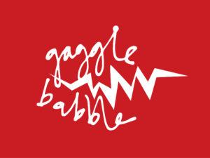 Gagglebabble theatre company branding